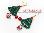 2013 Christmas Design Santa Claus Earrings
