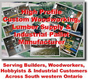 Custom Woodworking,  Domestic & Imported Lumber Retail & Pallet Mfg